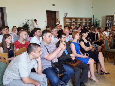 Презентація книжок, яка викликала неабияку зацікавленість у місті Миколаєві.
