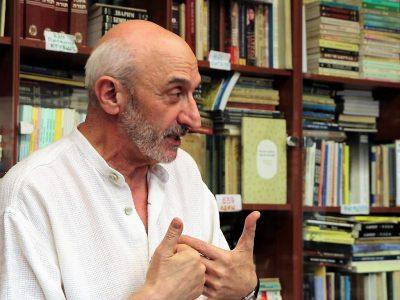 Генадій Кацен, координатор культурних програм Єврейського Культурного Центру «Beit-Grand», підводить підсумки зустрічі.