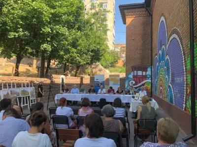 17 липня 2021 року, місто Кропивницький. Відкрита лекція та дискусія на тему: «Чому є важливим багатонаціональний підхід до історичного минулого України».