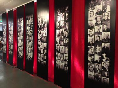 Обличчя єврейських жертв Бабиного Яру.