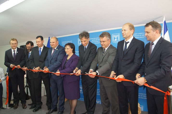 1 Opening of Israeli consulate in Lviv