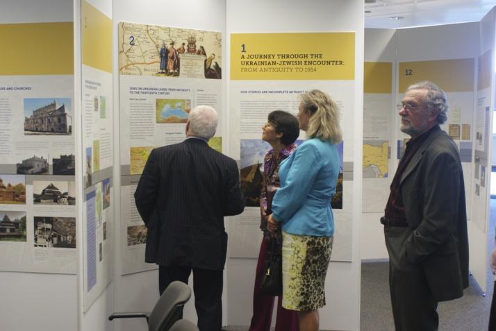 2-UJE Exhibit at Schwartz-Reisman Centre Vaughan