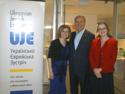 With Helena Yakovlev-Golani, main docent and assistant manager of the exhibition