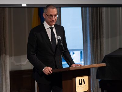 Borys Lozhkin, President, Jewish Confederation of Ukraine.