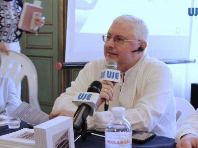 Андрій Павлишин, історик, перекладач та письменник; співзасновник Львівського міжнародного книжкового форуму та Літературного фестивалю.