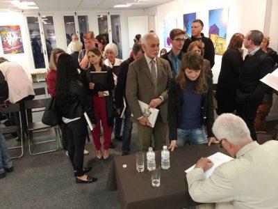 "Presentation of ""Jews and Ukrainians: A Millennium of Co-Existence"" held on September 9, 2017 at the Centre Culturel et d'information de l'Ambassade d'Ukraine in Paris, France."