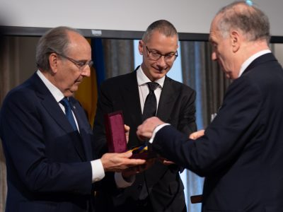 Presentation of the Sheptytsky Award to The Honorable Ronald S. Lauder, President, World Jewish Congress.