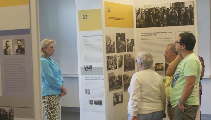 4-UJE Exhibit at Schwartz-Reisman Centre Vaughan