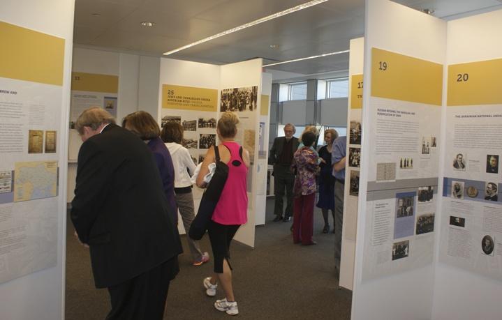 5-UJE Exhibit at Schwartz-Reisman Centre Vaughan