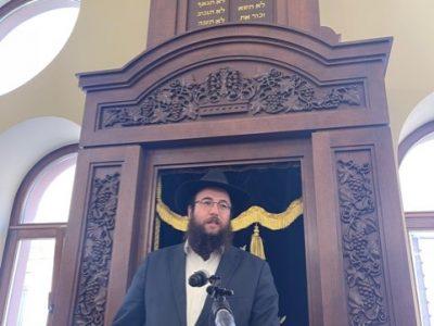 Chief rabbi of Chernivtsi and Bukovyna, Menachem Mendel Glitzenstein