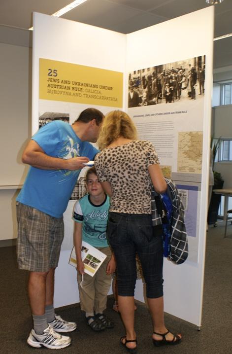 6-UJE Exhibit at Schwartz-Reisman Centre Vaughan