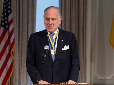 The Honorable Ronald S. Lauder, President, World Jewish Congress.
