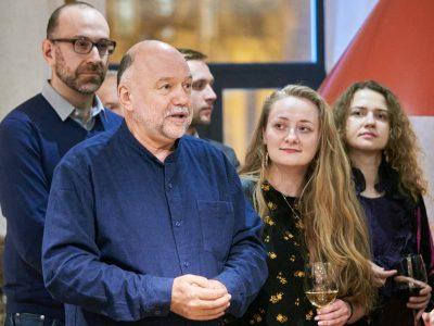 Ukrainian writer Andrei Kurkov, book prize jury head.
