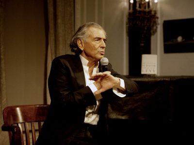 Bernard-Henri Lévy. Photo by Renay Morris.