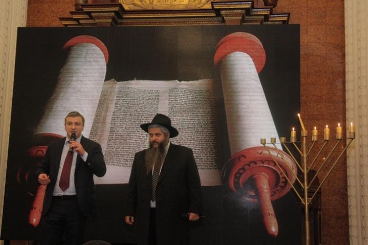 Hanuka Brodsky Synagogue 2015 Min.Justice Petrenko Azman