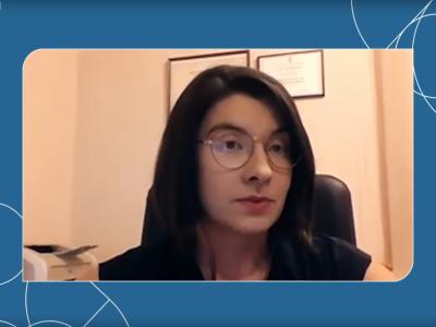 Журналіст, перекладач та модераторка Ірина Славінська (Україна).