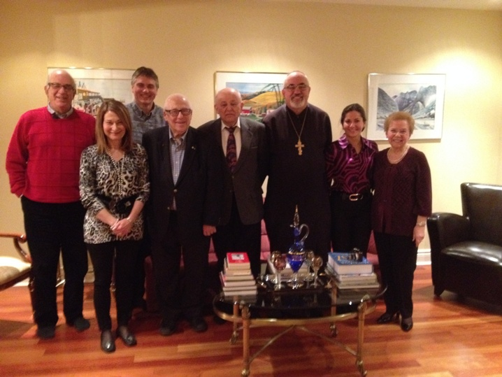 Members of the Ukrainian Jewish Dialogue of Montreal group