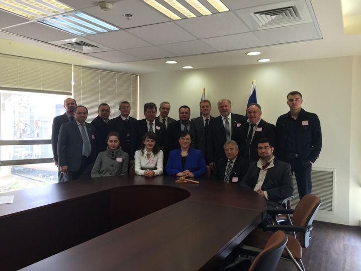 Ukrainian pastors Israel 25.01.2016 MP Tali Plaskov